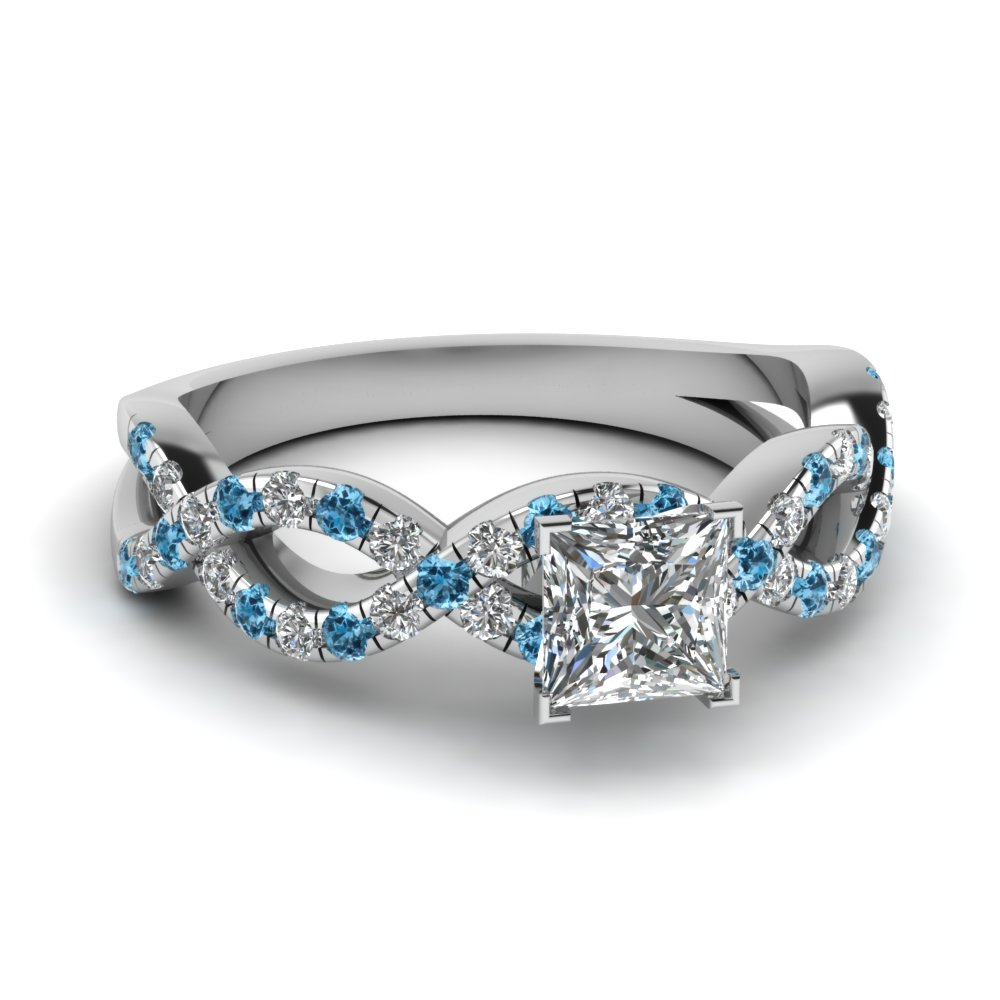 full white heart topaz blue and diamond ring shaped gold rings size