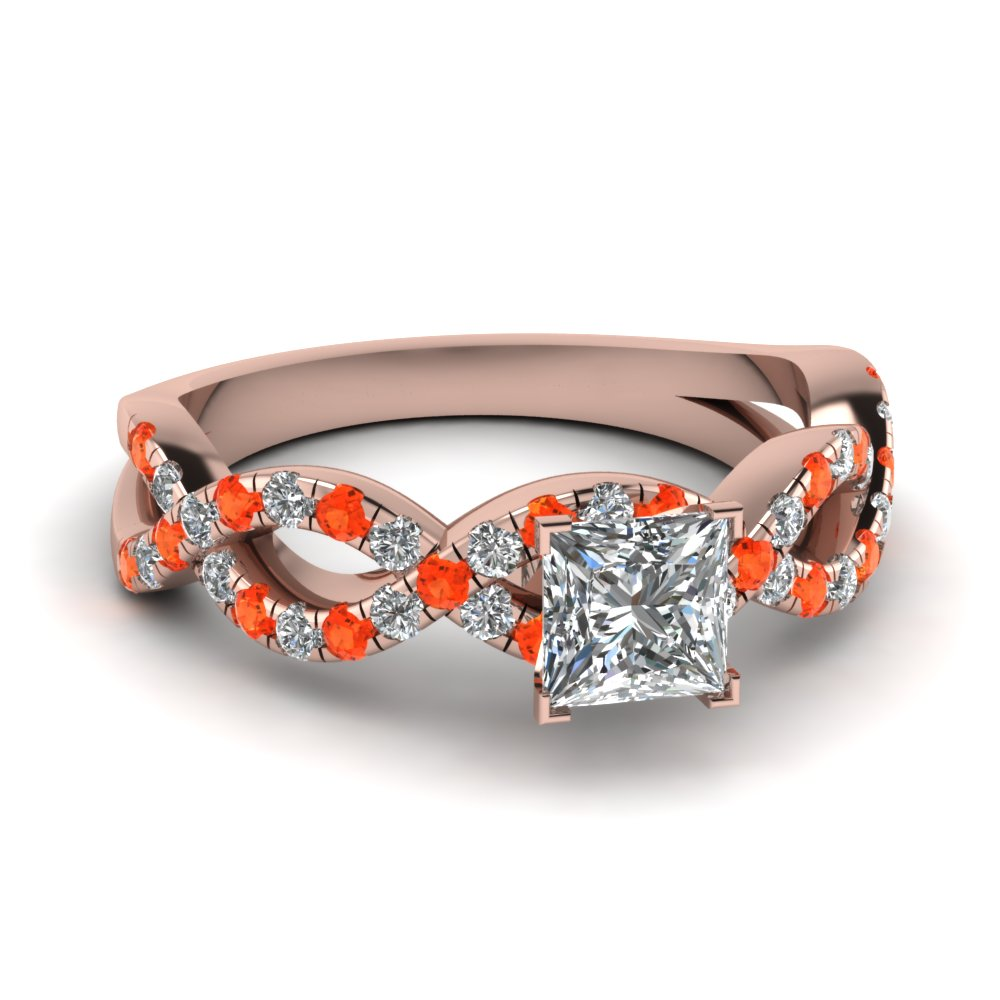 Poppy Passion Topaz Engagement Rings