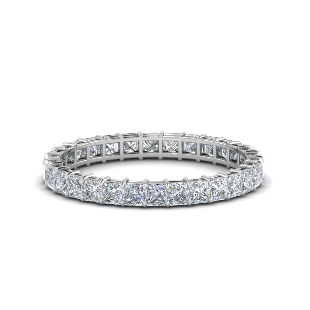 White Gold Eternity Bands