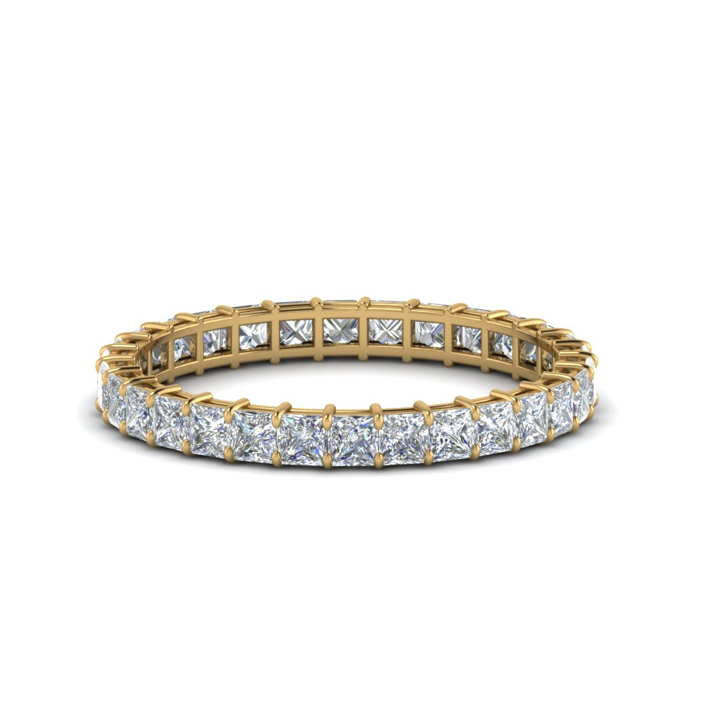 princess-cut-diamond-eternity-ring-1.50-carat-in-FDEWB8675PR-1.50CT-NL-YG