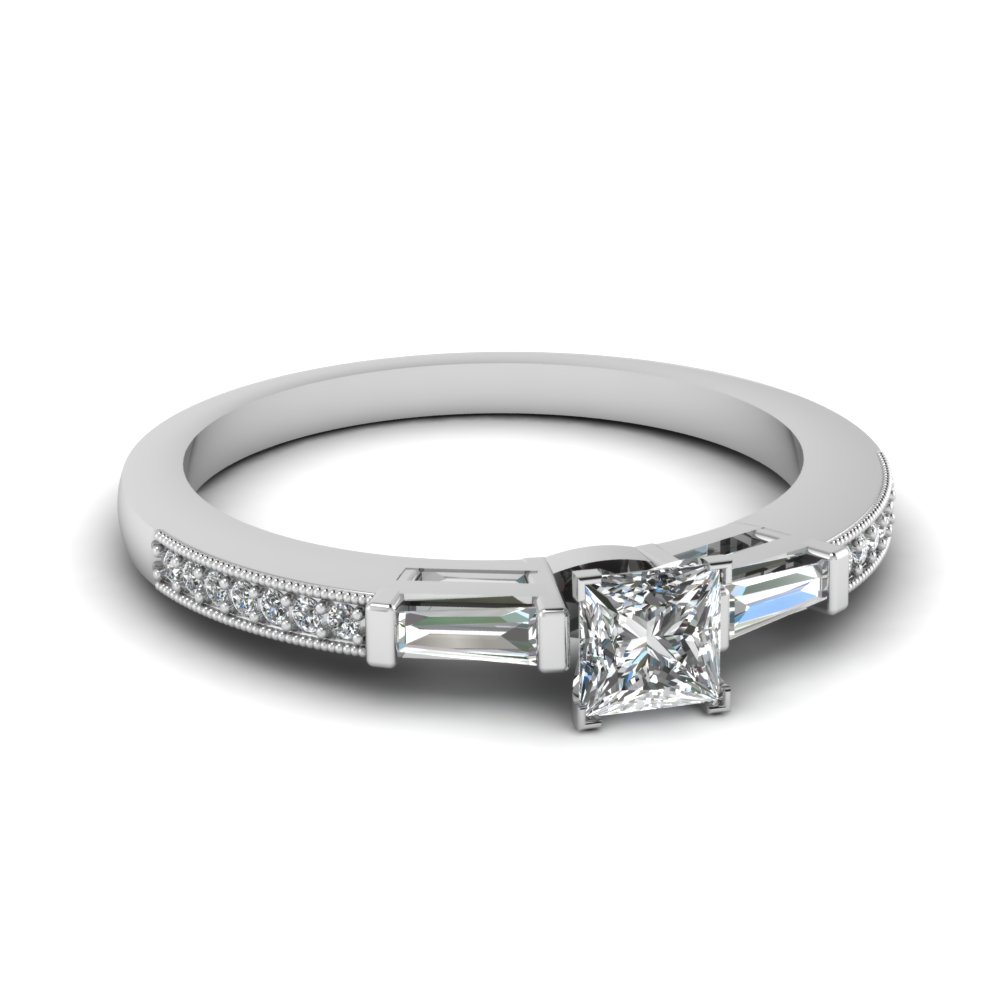 princess cut diamond ring sale with baguette in FDENS3074PRR NL WG 30.jpg