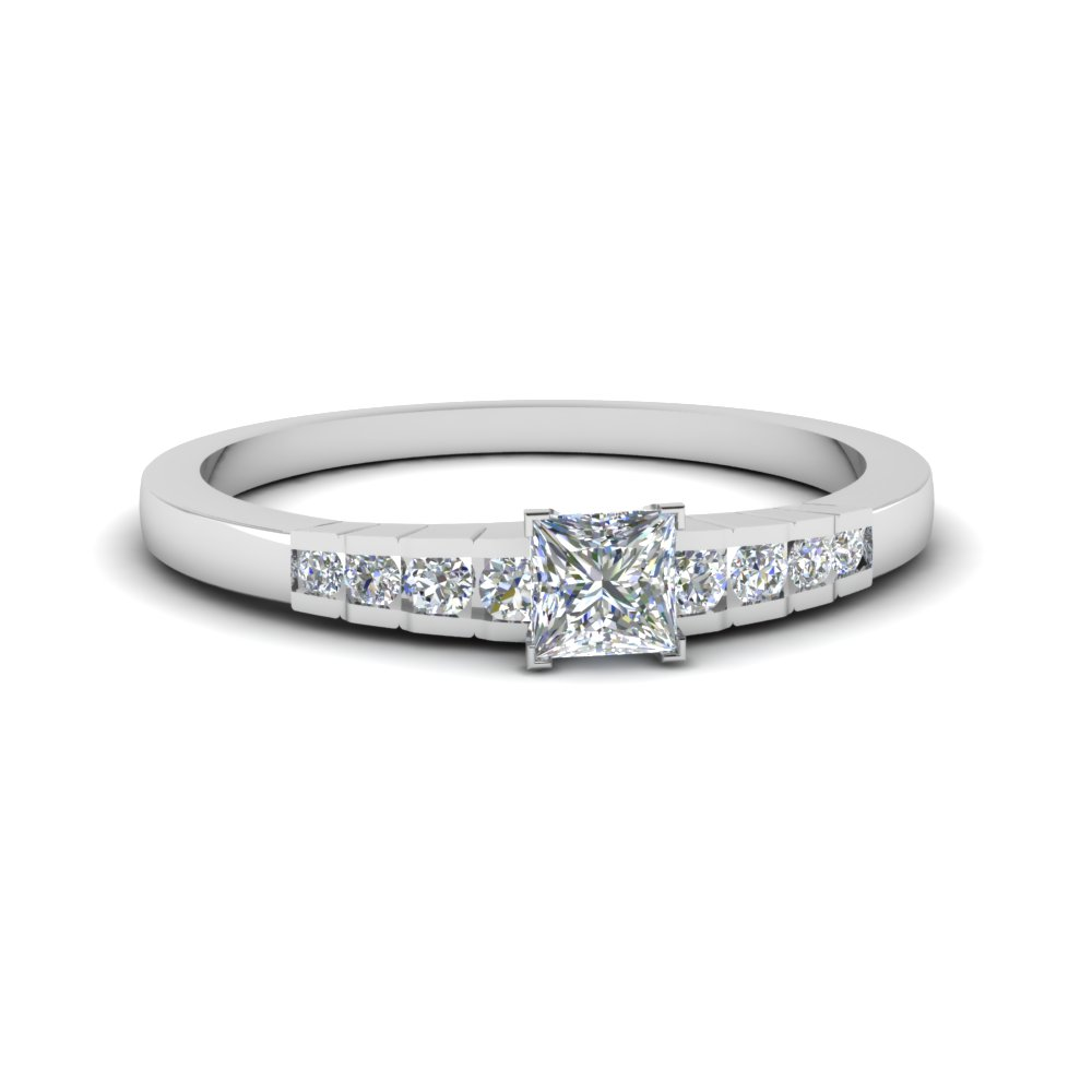 Cheap Princess Cut Diamond Wedding Ring