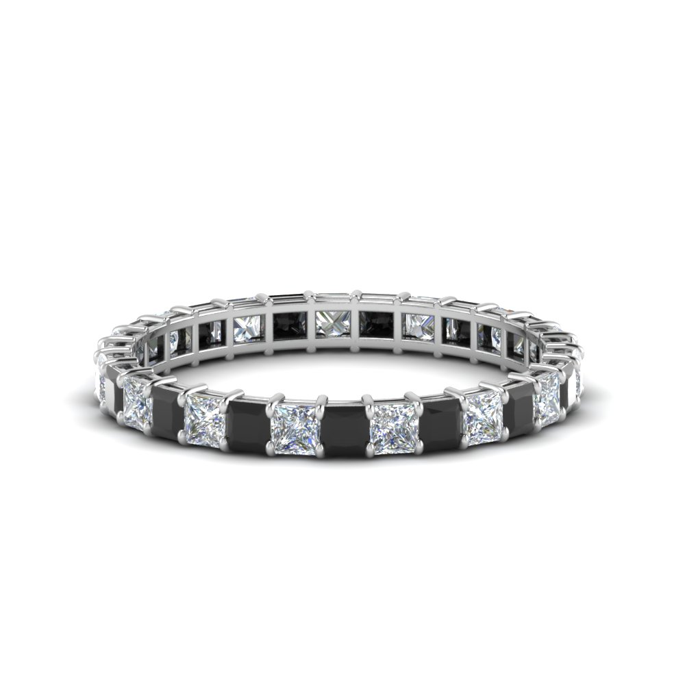 1.50 Ct. Princess Cut Eternity Ring
