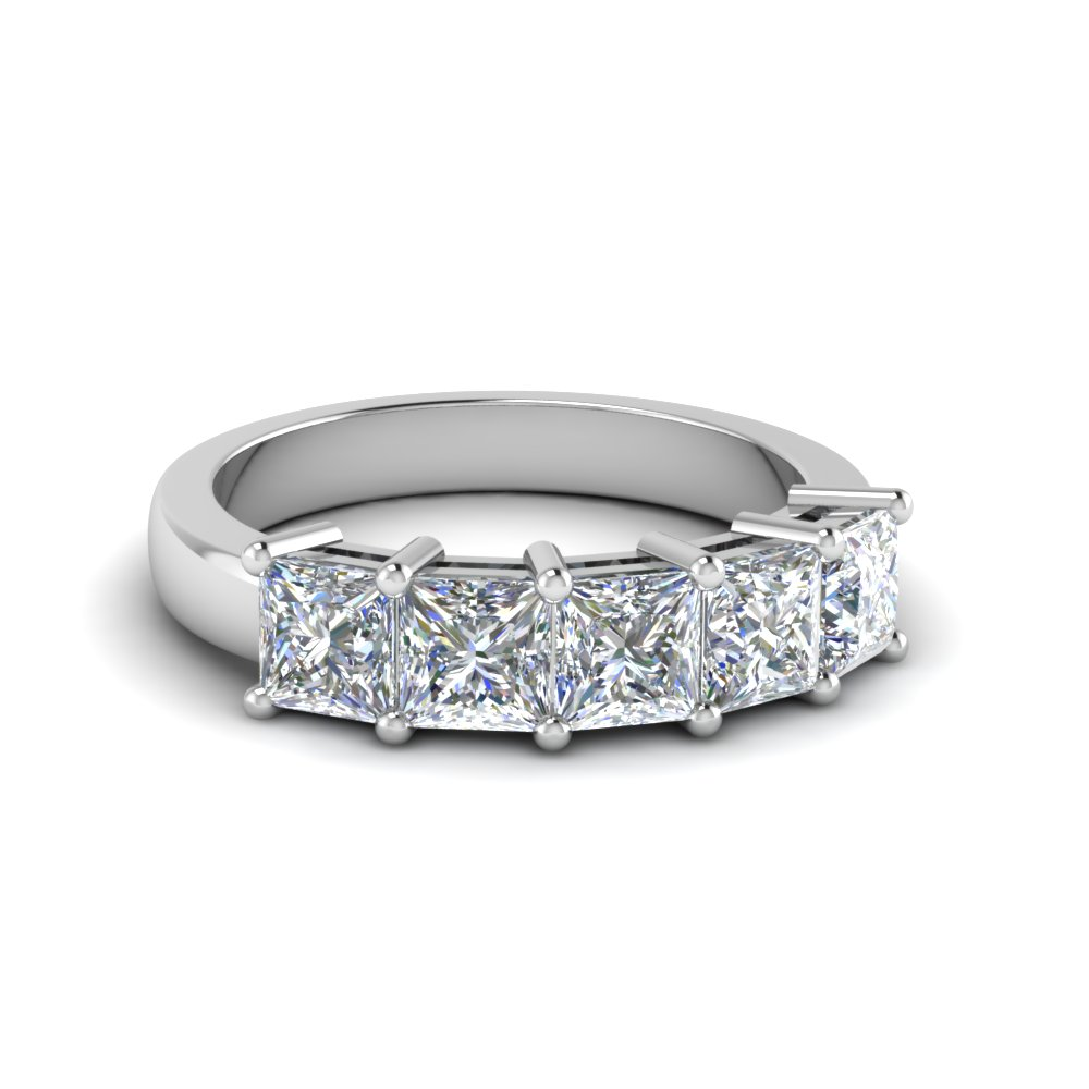 princess-cut-five-stone-wedding-anniversary-ring-(2-ct.)-in-FD8008PRB-2CT-NL-WG