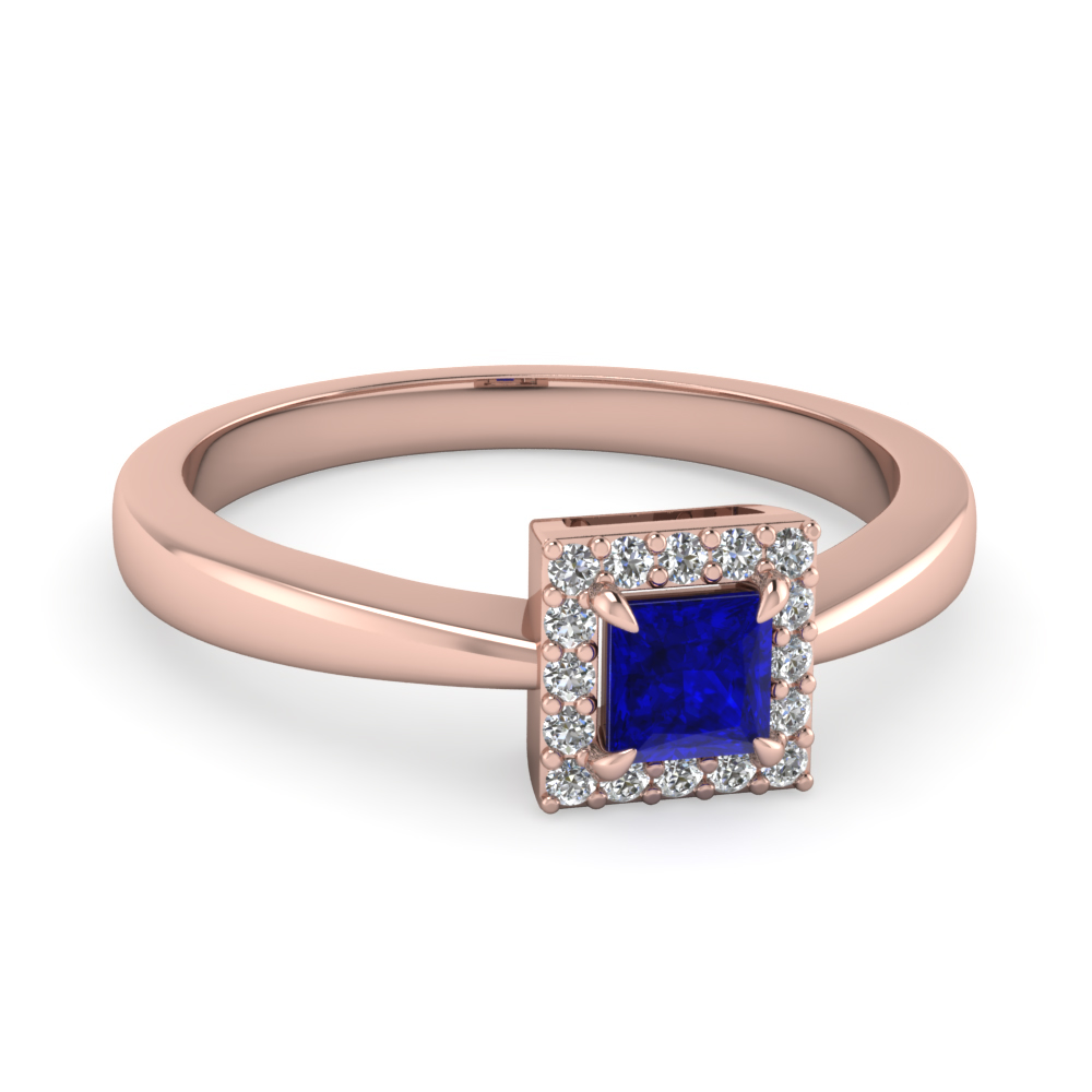 princess-cut-halo-diamond-engagement-ring-with-blue-sapphire-gemstone-in-14K-rose-gold-FD1179PRRGBS-NL-RG-AZ