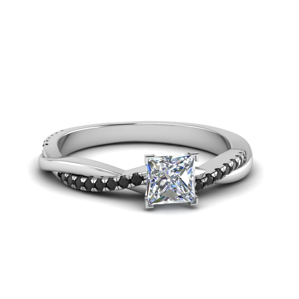 twisted engagement rings wave stone houston ring side diamond
