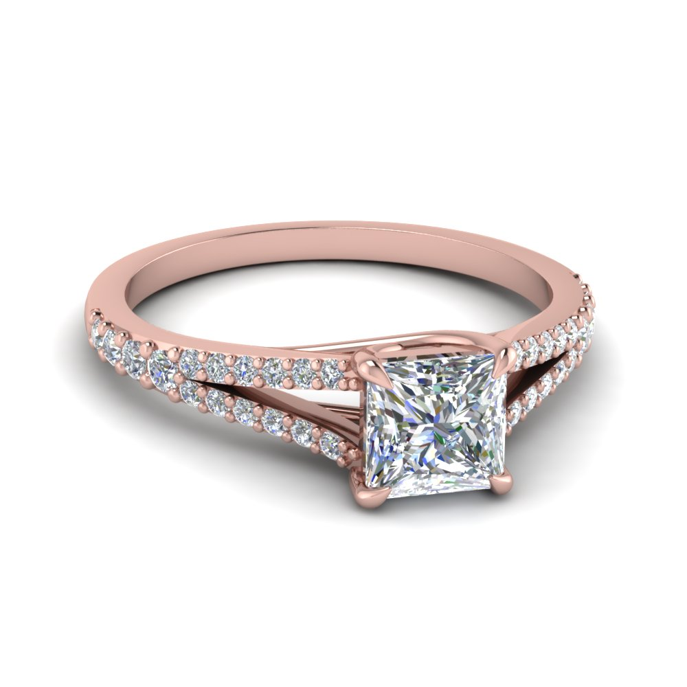 Petite Square Diamond Ring