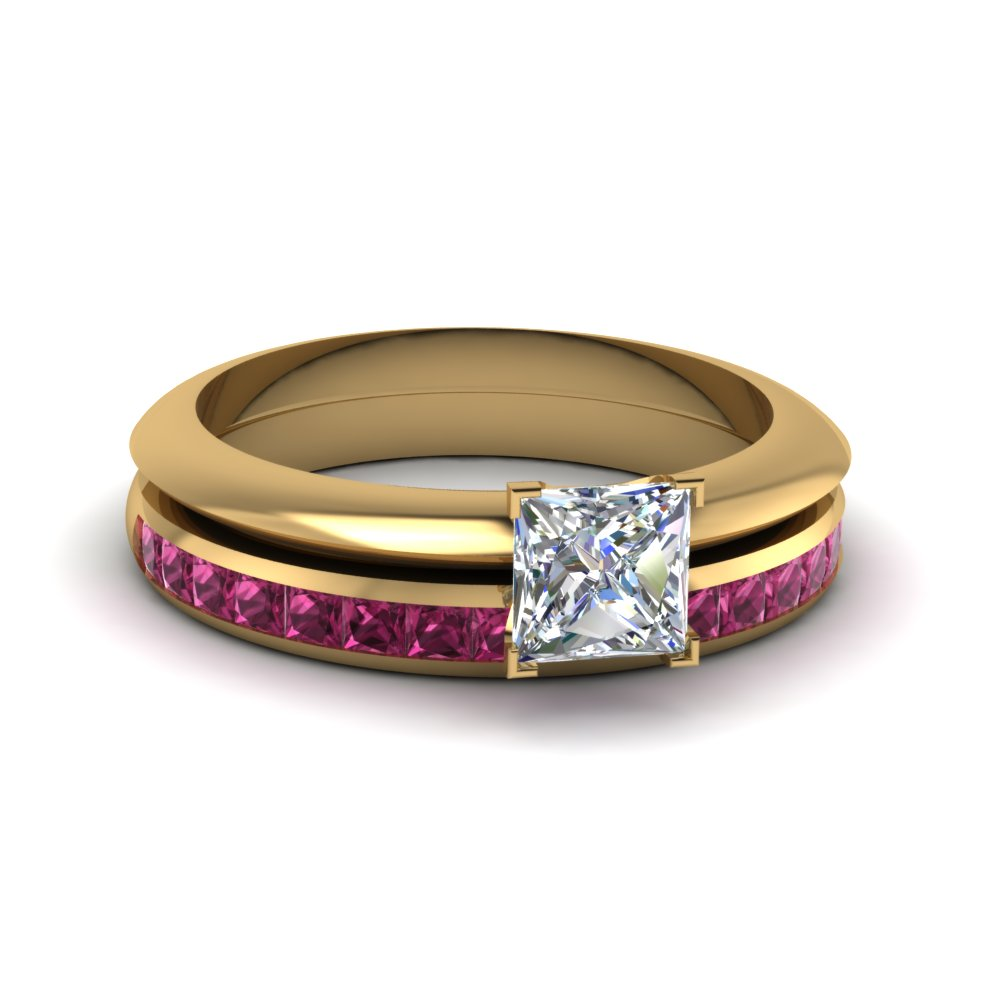 Get Engagement Rings With Princess Accents At Affordable Price