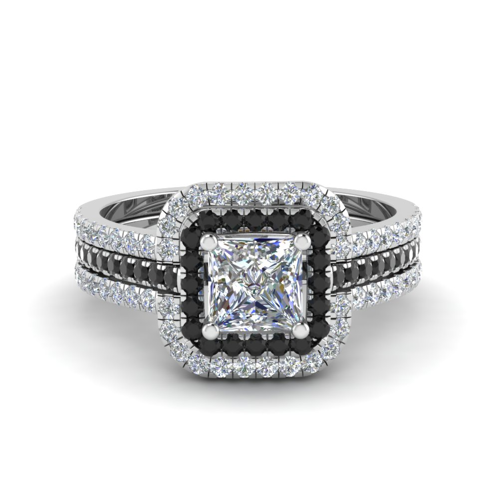 square frame shank v two zales t split cut w diamond wedding in ring c engagement double rings cushion