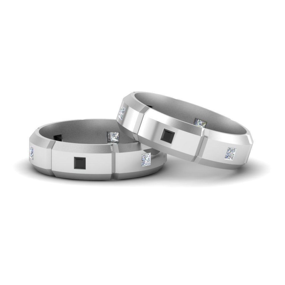 black diamond gay mens wedding rings - Gay Mens Wedding Rings