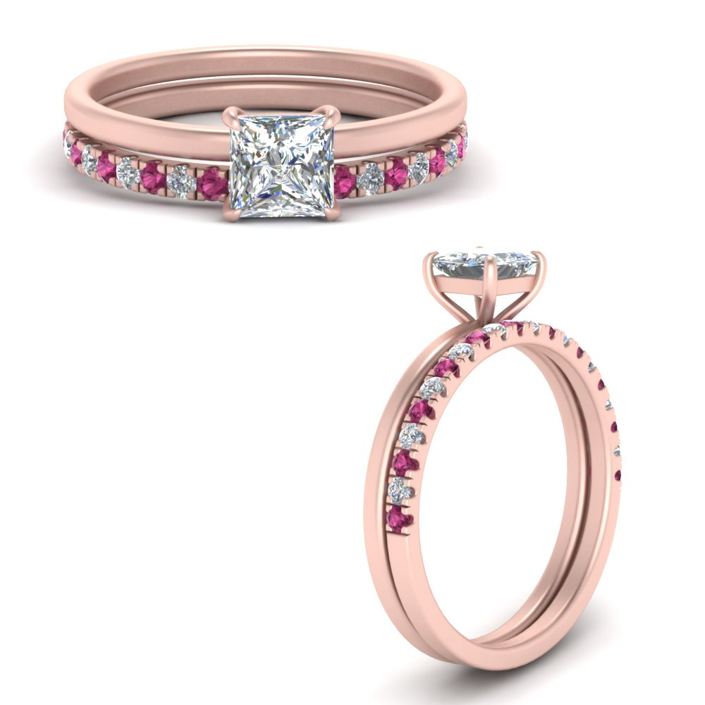 princess-cut-delicate-thin-setting-with-pink-sapphire-half-eternity-band-in--FD9358HPRGSADRPIANGLE3-NL-RG