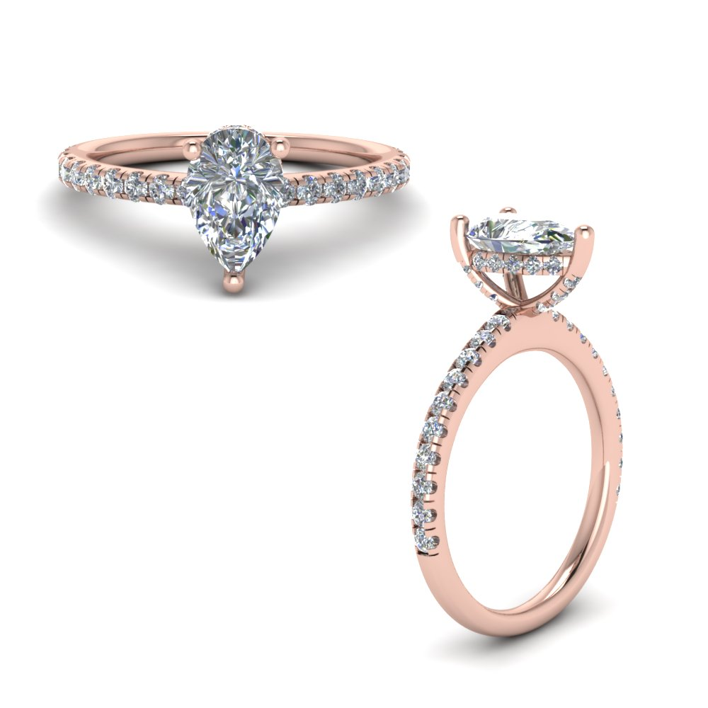 The Under Halo Ring Style