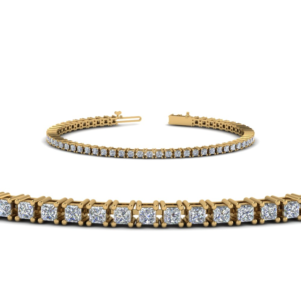 582403c8f3b13 4 Ct. Princess Diamond Bracelet