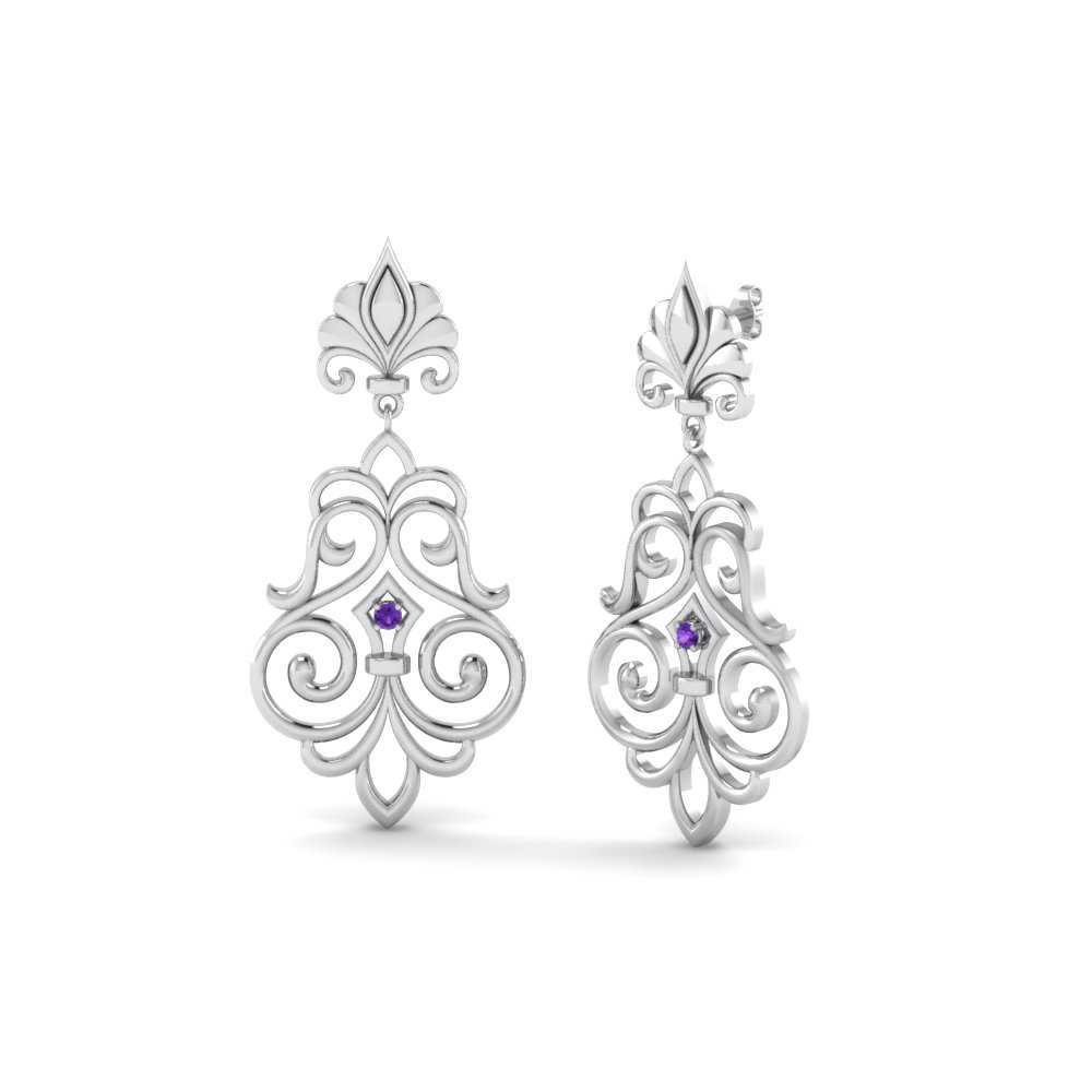 purple-topaz-filigree-dangle-drop-earring-in-FDEAR85622GVITO-NL-WG