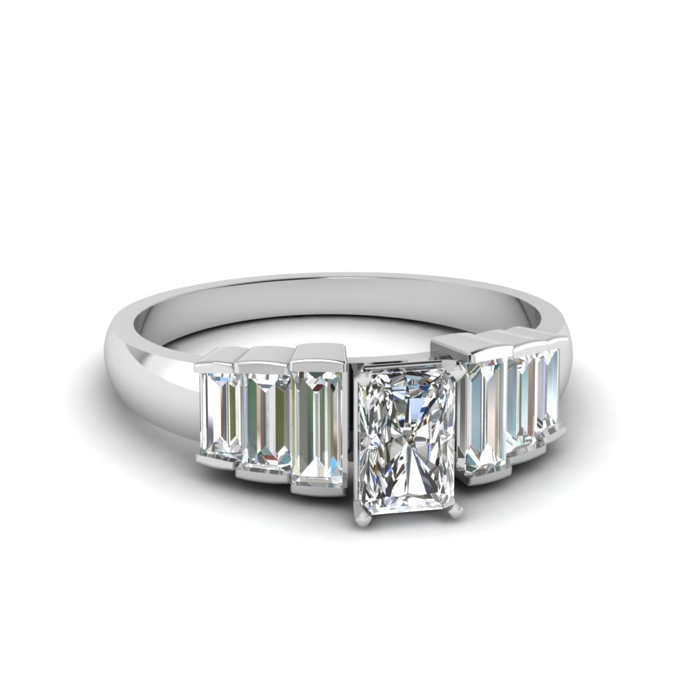 Awesome Radiant Cut Diamond Ring