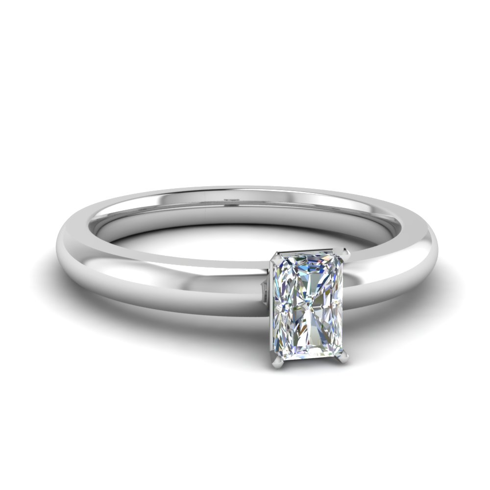 Best Bargains Radiant Cut Solitaire Engagement Rings