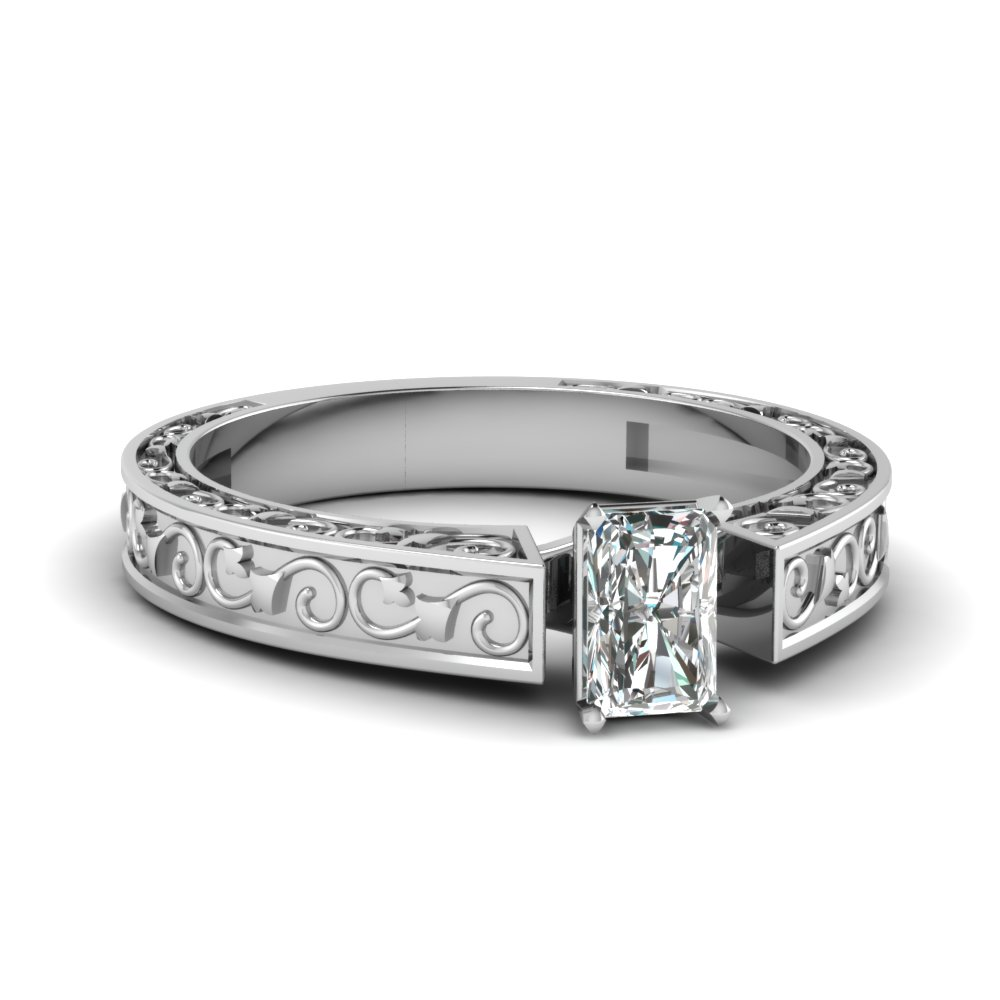 radiant cut filigree solitaire engagement ring in FDENS3583RAR NL WG.jpg