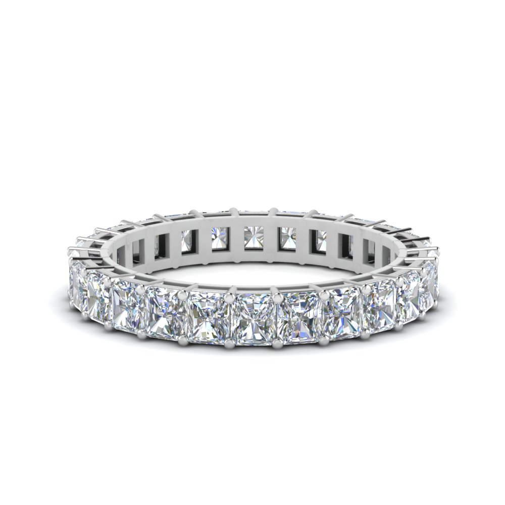 2 Ct. Radiant Cut Eternity Ring