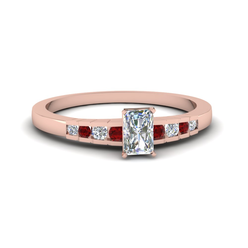Affordable Ruby Engagement Ring For Her
