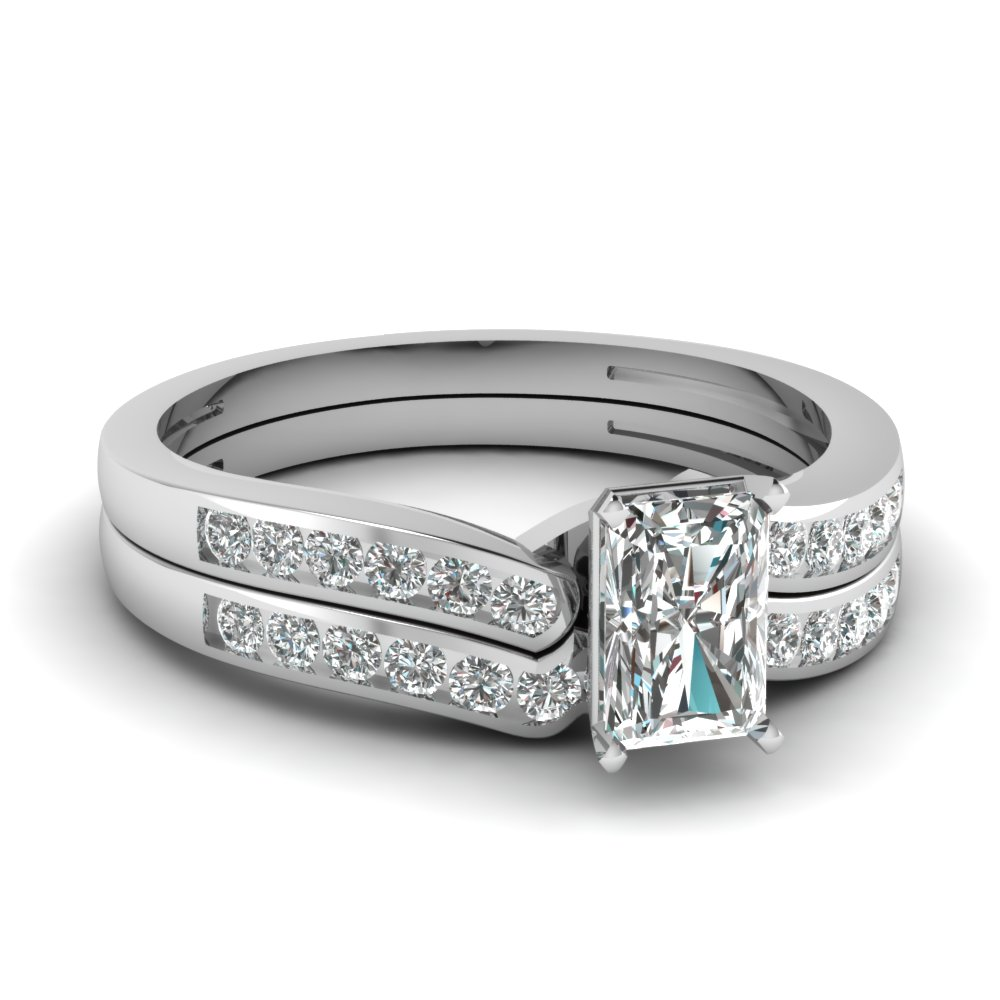 radiant cut diamond channel bridal set in FDENS3092RA NL WG.jpg