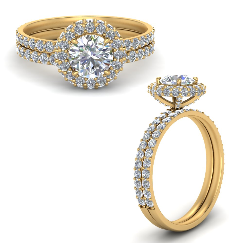 rollover-round-halo-wedding-ring-sets-in-FD9376ROANGLE3-NL-YG