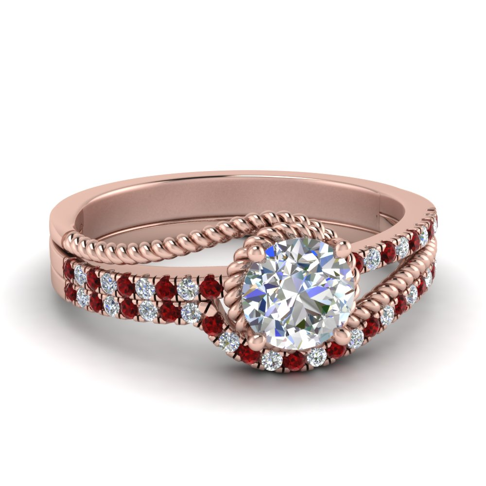 rope-split-shank-diamond-wedding-ring-set-with-ruby-in-FD124087ROGRUDR-NL-RG
