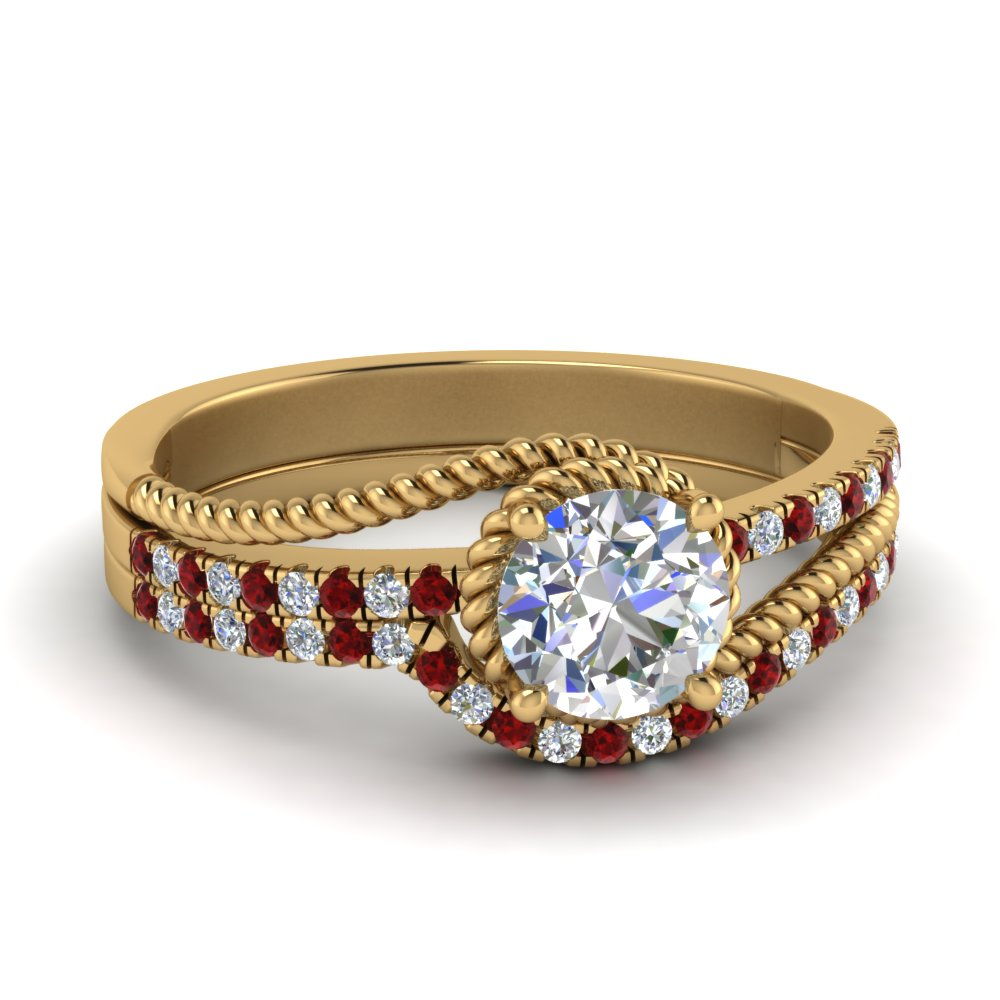 rope-split-shank-diamond-wedding-ring-set-with-ruby-in-FD124087ROGRUDR-NL-YG