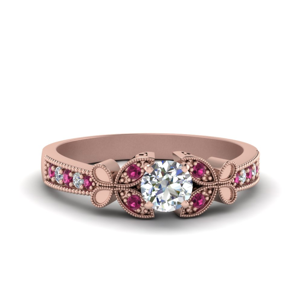 Pink Sapphire Engagement Rings | Fascinating Diamonds