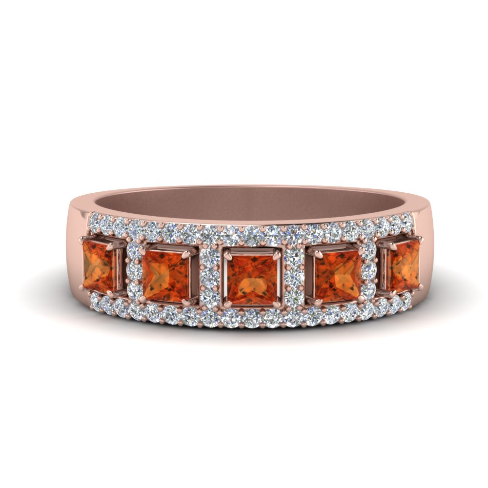 round-and-princess-vintage-diamond-wedding-band-with-orange-sapphire-in-FDWB866GSAOR-NL-RG