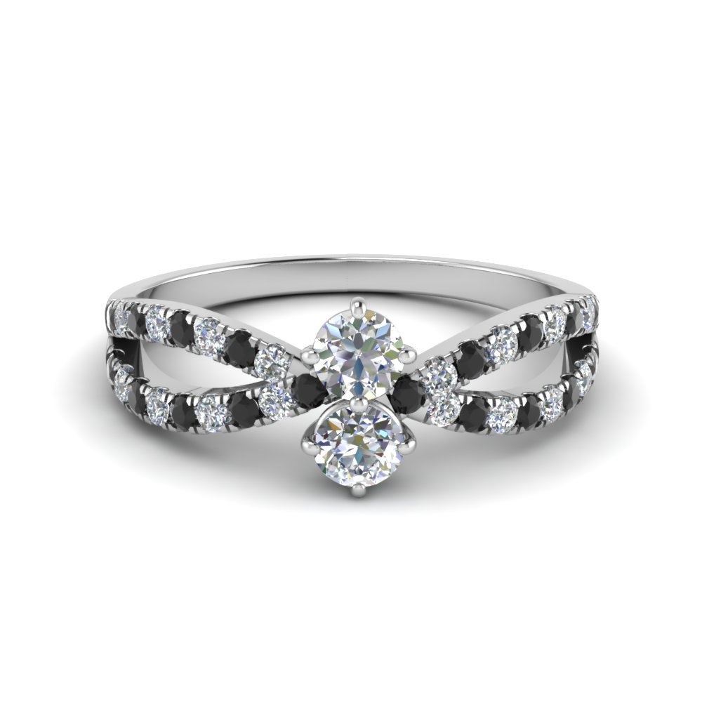 Platinum Alternative Diamond Ring