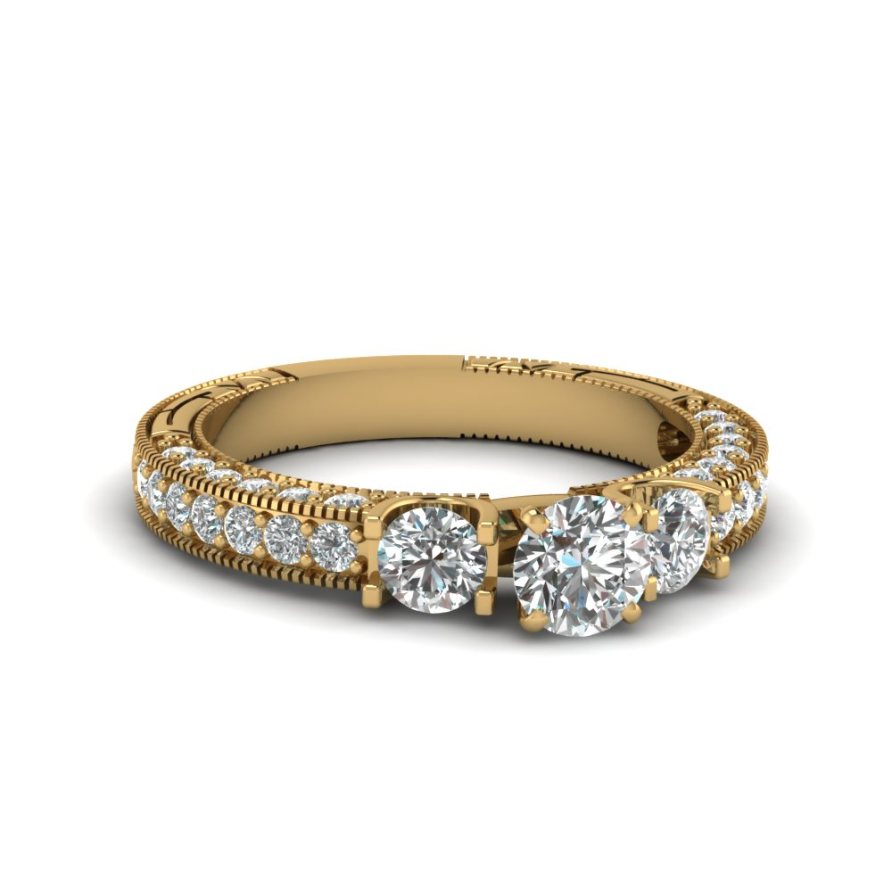 exclusive vintage diamond engagement rings | fascinating diamonds