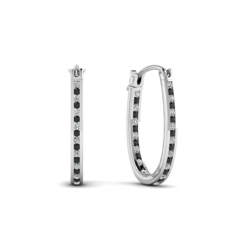 Diamond Hoop Earrings(0.50 ctw.)