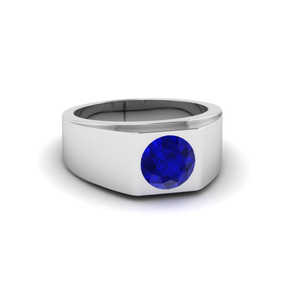 printable model rings gold models print blue jewelry sapphire white stl