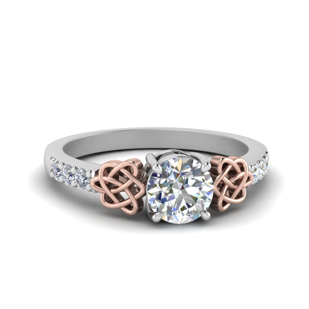 Affordable Celtic Diamond Rings