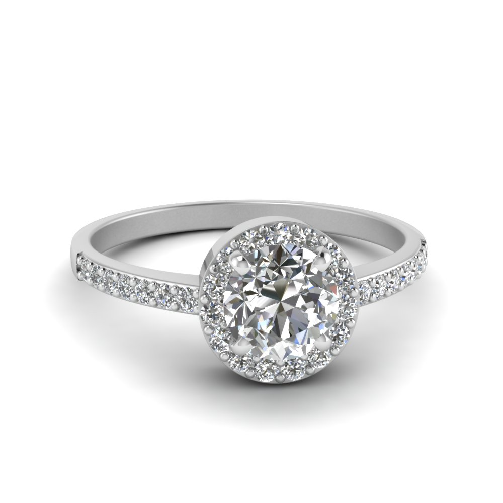 Simple Round Diamond Ring