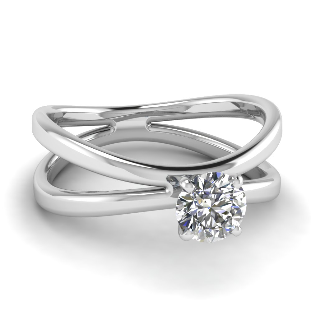 Shop For Customized Round Cut Diamond Rings