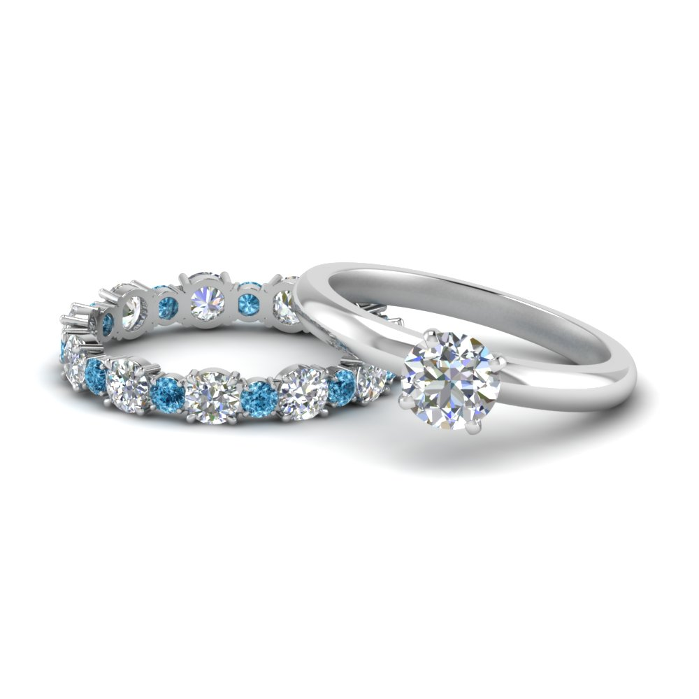 classic-round-cut-diamond-solitaire-with-blue-topaz-eternity band-set-in-FD9113ROGICBLTO-NL-WG