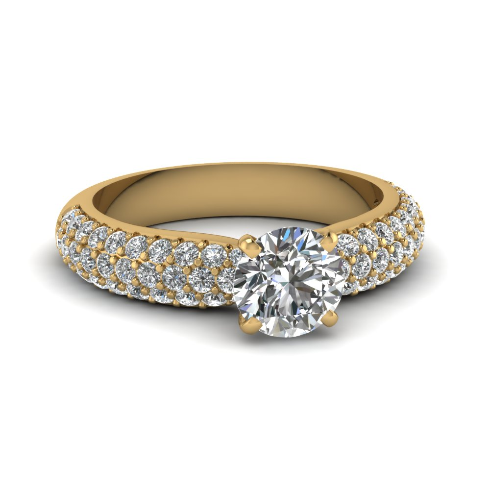 Micropave Wedding Ring