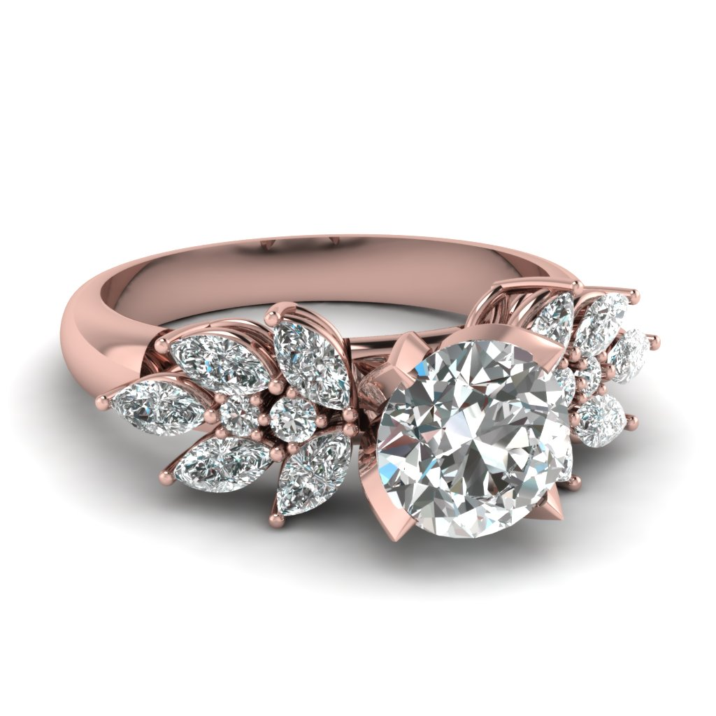 Unique Marquise Engagement Rings