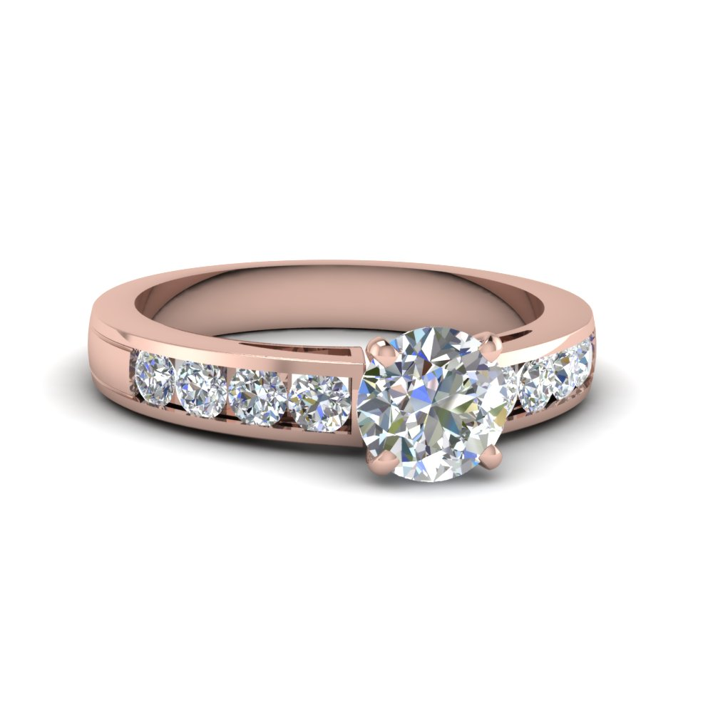 Channel Diamond Wedding Ring