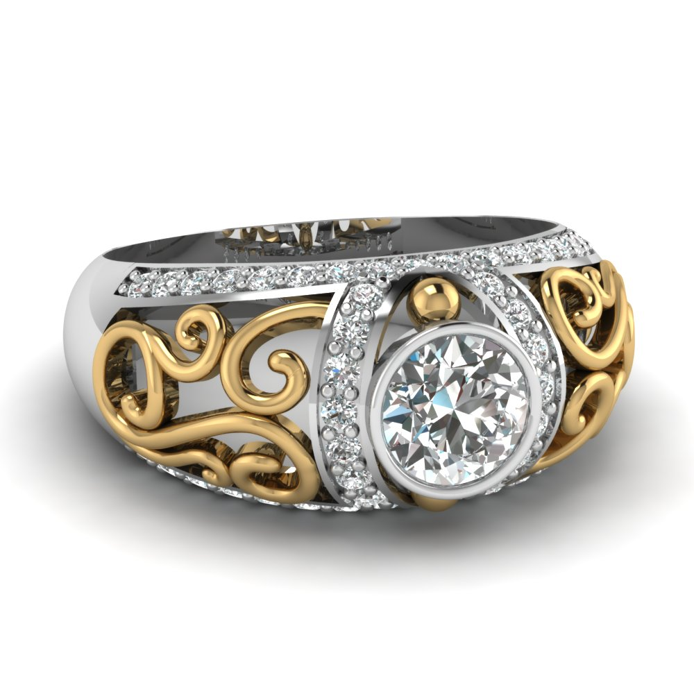 gold yellow in sarah laurie diamond ring product designs bands band stone wedding