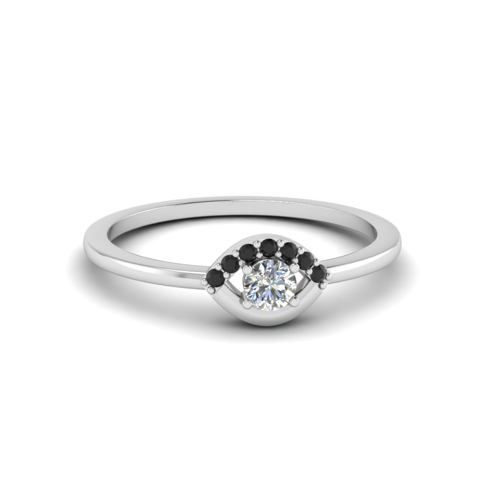 Small Diamond Promise Ring For Her
