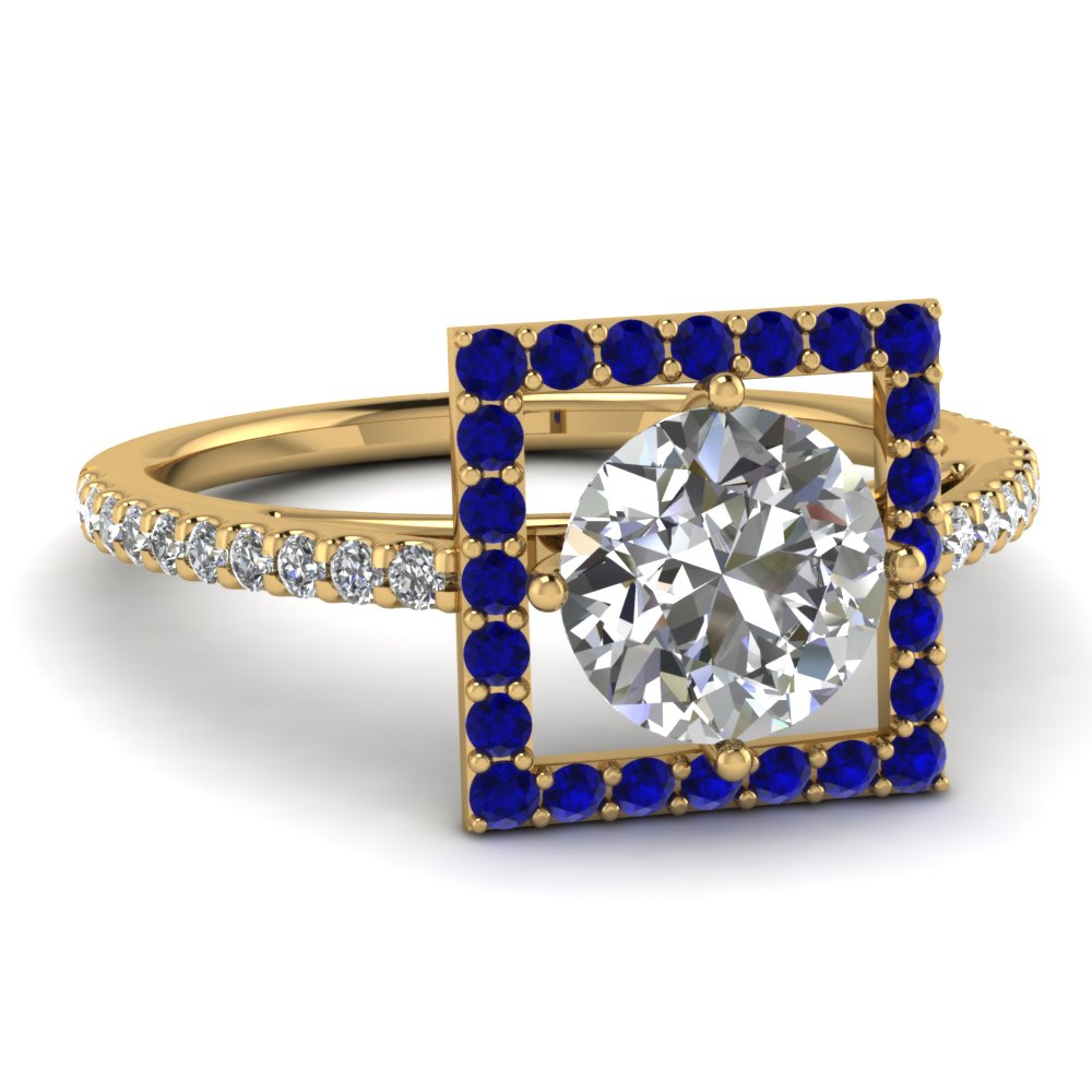 round-cut-diamond-engagement-ring-with-blue-sapphire-in-14K-yellow-gold-FD121864RORGSABL-NL-YG