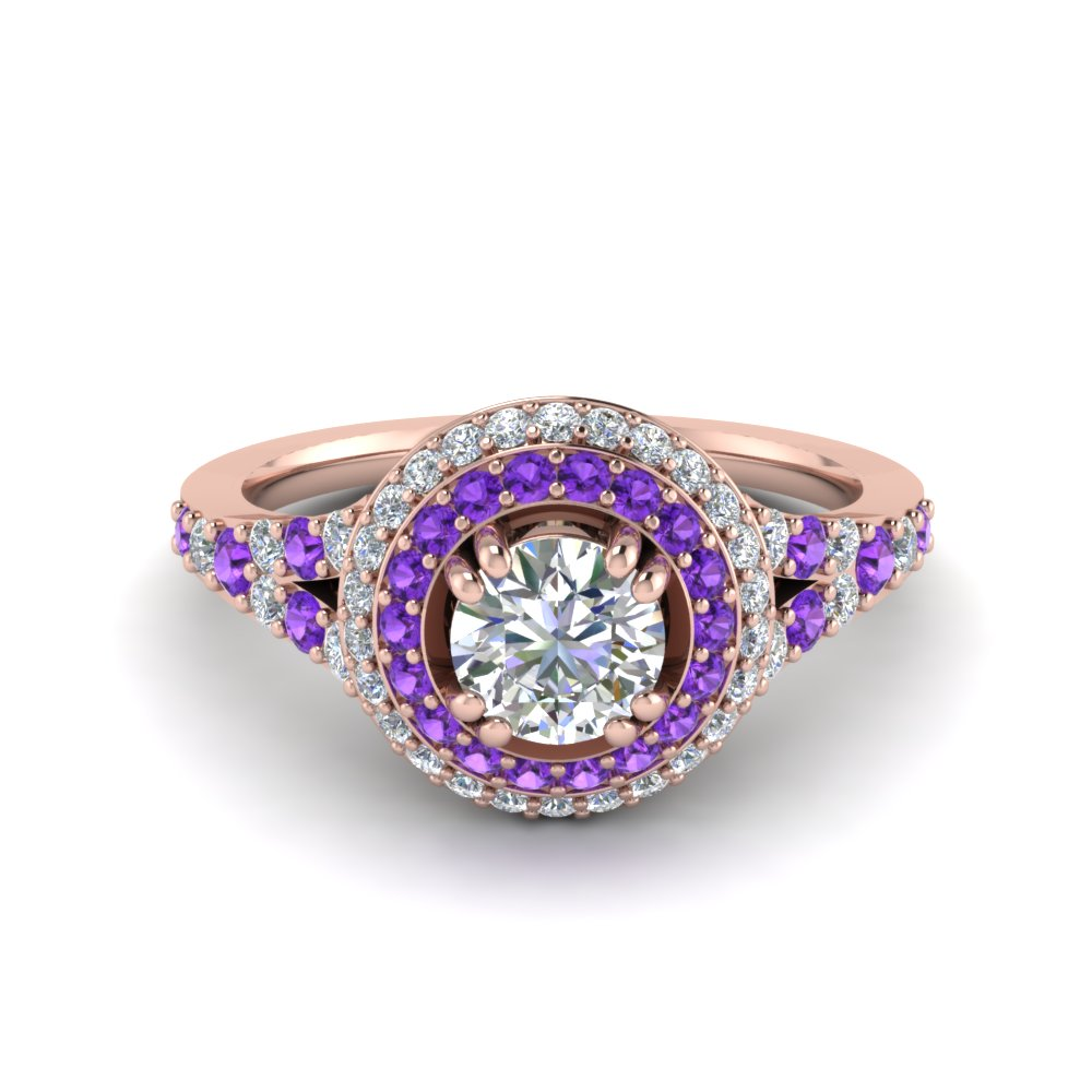 petite-double-halo-diamond-engagement-ring-with-purple-topaz-in-FD8679RORGVITO-NL-RG