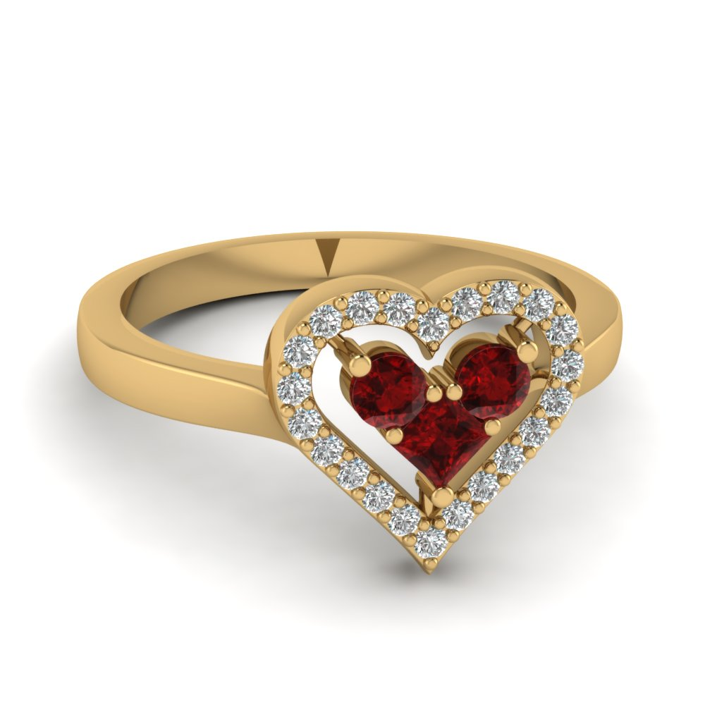 Ruby Stone Gold Ring Www Pixshark Com Images Galleries