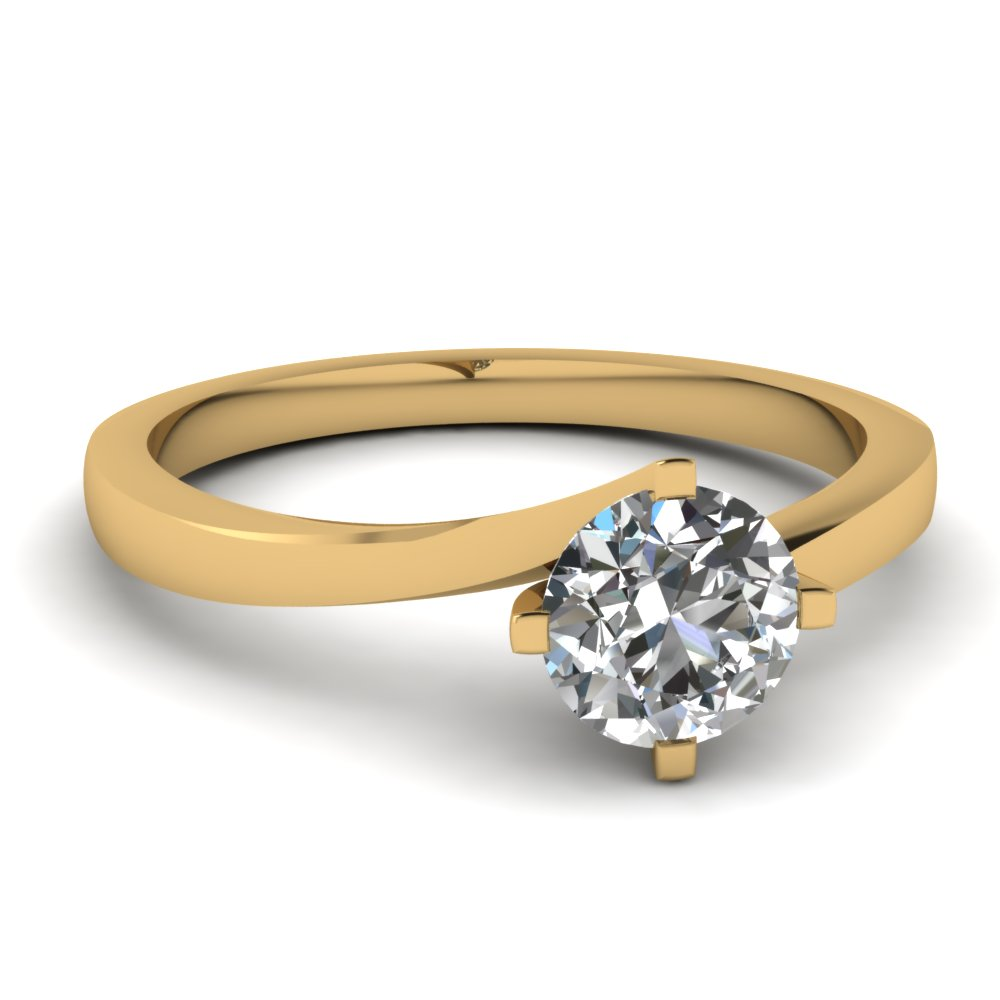 ring white rings classic engagement product diamond mount er semi gold halo accented market