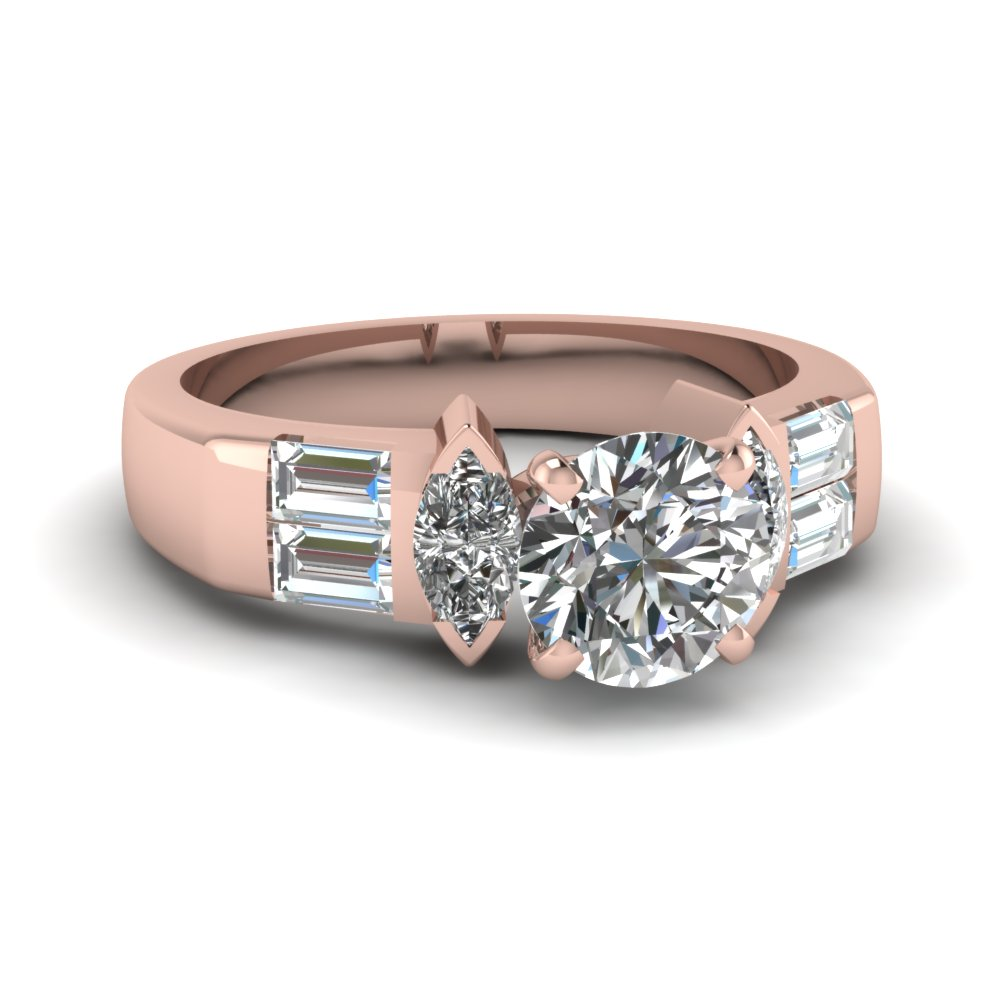 Art Deco Accent Diamond Ring
