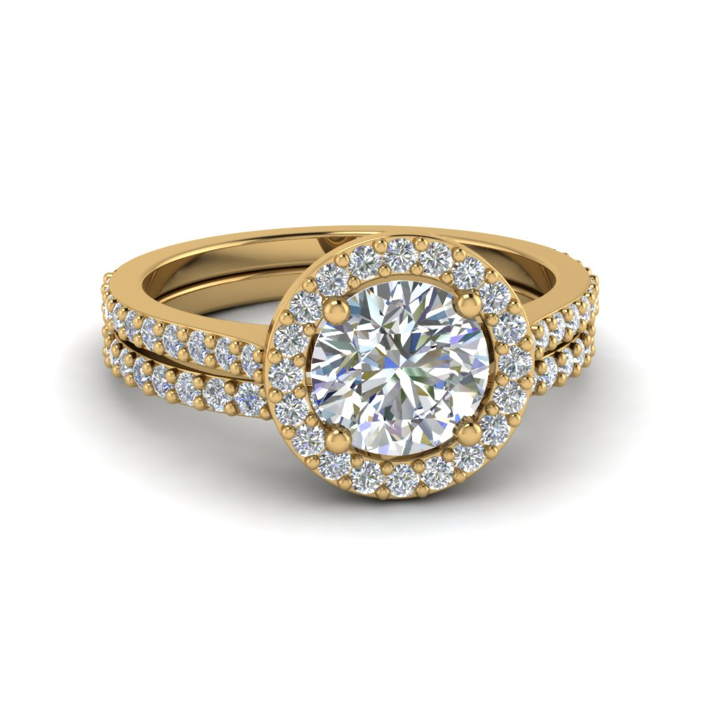 Wedding Ring Set With Daimond