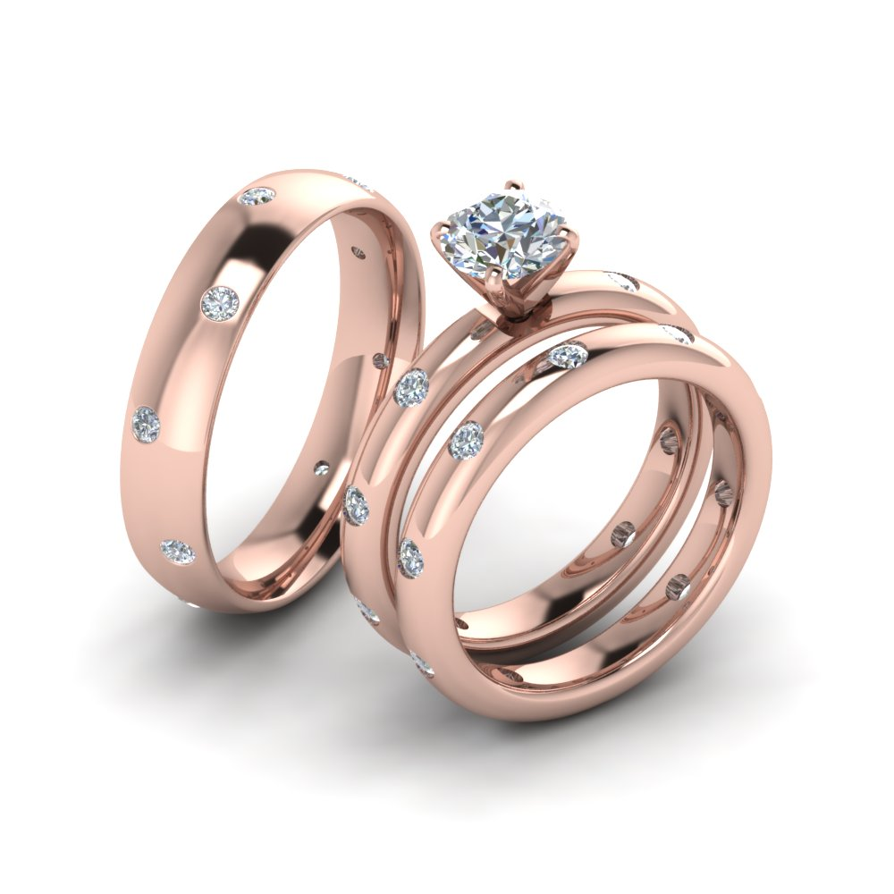 Add To Cart Sku Fd8223tr The Trio Matching Diamond Rings
