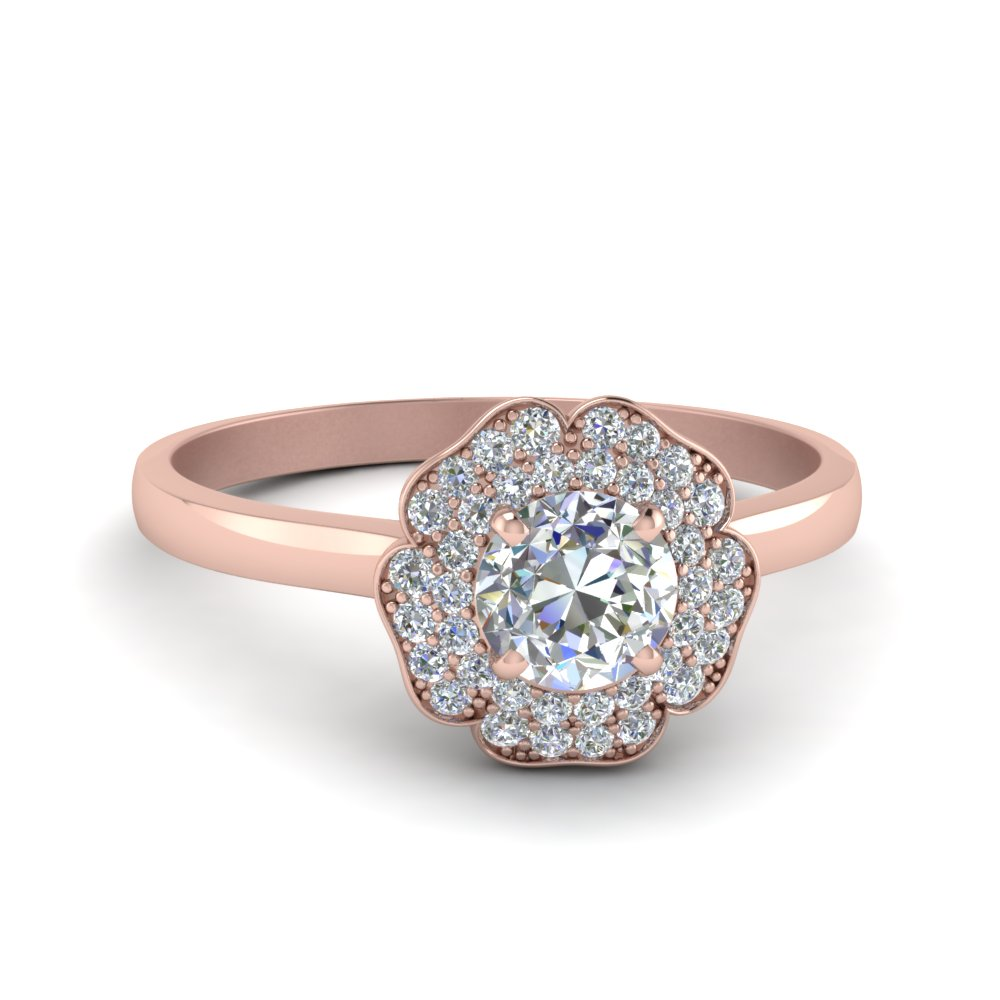 ete design engagement ring t four flowery flower wide rings view product centre chryssa diamond